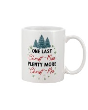 ONE LAST CHRIST-MISS Mug front