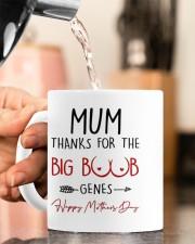 THANKS FOR THE BIG BOOBS GENES Mug ceramic-mug-lifestyle-65