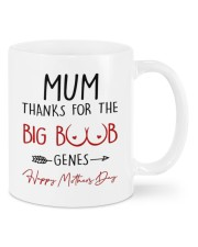 THANKS FOR THE BIG BOOBS GENES Mug front