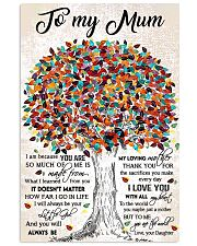 TO MY MUM  Vertical Poster tile