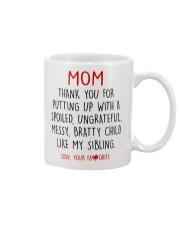DEAR MOM  Mug front