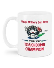 FROM YOUR TOUCHDOWN CHAMPION Mug back