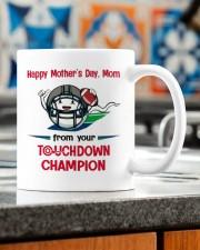 FROM YOUR TOUCHDOWN CHAMPION Mug ceramic-mug-lifestyle-57