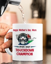 FROM YOUR TOUCHDOWN CHAMPION Mug ceramic-mug-lifestyle-65