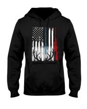 HUNTING FLAG - MB76 Hooded Sweatshirt thumbnail