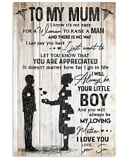 TO MY NURSE MUM  Vertical Poster tile