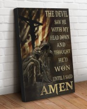 I SAID AMEN 20x30 Gallery Wrapped Canvas Prints aos-canvas-pgw-20x30-lifestyle-front-14