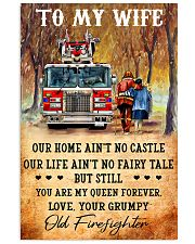 From your grumpy old firefighter Vertical Poster tile