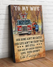 From your grumpy old firefighter 20x30 Gallery Wrapped Canvas Prints aos-canvas-pgw-20x30-lifestyle-front-14