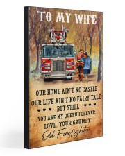 From your grumpy old firefighter 20x30 Gallery Wrapped Canvas Prints front