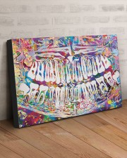 Dentist Colorful X-ray 30x20 Gallery Wrapped Canvas Prints aos-canvas-pgw-30x20-lifestyle-front-07