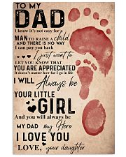 TO MY DAD - MB188 11x17 Poster front