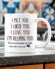 YOU REALLY KNOW HOW TO USE YOUR COCK Mug ceramic-mug-lifestyle-57