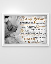 TO MY HUSBAND - MB318 36x24 Poster poster-landscape-36x24-lifestyle-02