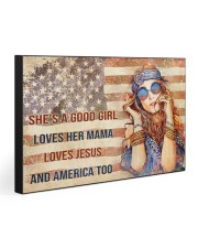 SHE'S A GOOD GIRL 30x20 Gallery Wrapped Canvas Prints front