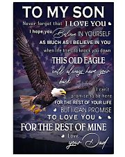 TO MY SON  Vertical Poster tile