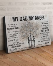 MY DAD MY ANGEL 30x20 Gallery Wrapped Canvas Prints aos-canvas-pgw-30x20-lifestyle-front-07
