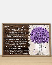 TO MY MUM FROM DAUGHTER 36x24 Poster poster-landscape-36x24-lifestyle-03