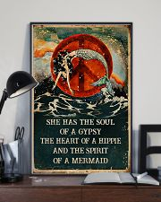 THE SPIRIT OF A MERMAID  24x36 Poster lifestyle-poster-2