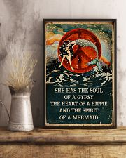 THE SPIRIT OF A MERMAID  24x36 Poster lifestyle-poster-3