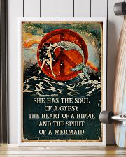 THE SPIRIT OF A MERMAID  24x36 Poster lifestyle-poster-4