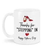 THANKS FOR STEPPING IN   Mug back