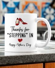 THANKS FOR STEPPING IN   Mug ceramic-mug-lifestyle-57