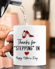 THANKS FOR STEPPING IN   Mug ceramic-mug-lifestyle-65