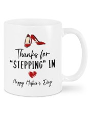 THANKS FOR STEPPING IN   Mug front