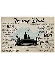 TO MY DAD - FISHING- MB314 24x16 Poster thumbnail