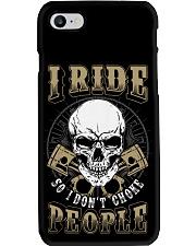 I RIDE SO I DON'T CHOKE PEOPLE - MB329 Phone Case thumbnail