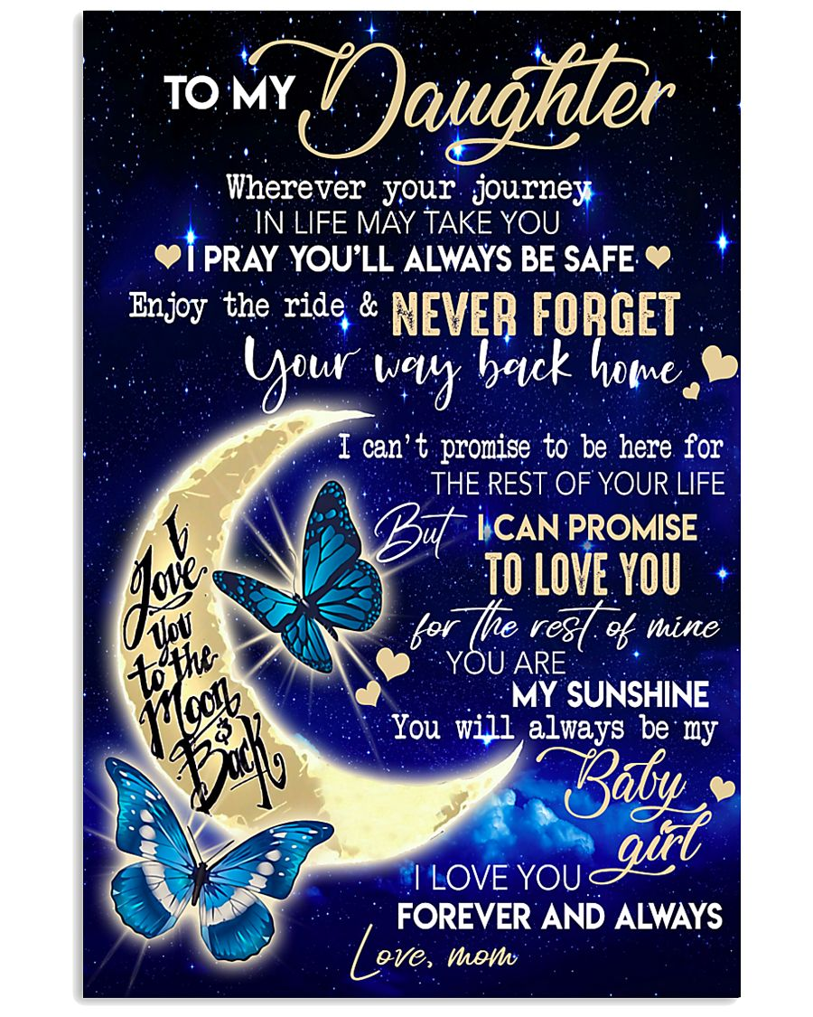 TO MY DAUGHTER - MB69 11x17 Poster