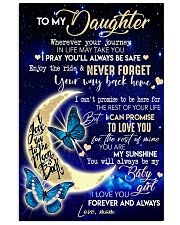 TO MY DAUGHTER - MB69 11x17 Poster front