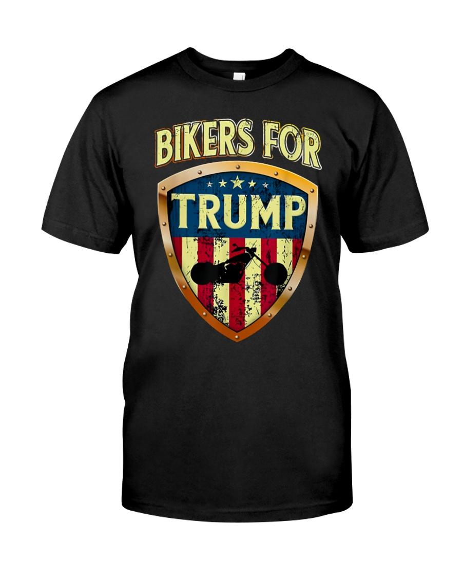 BIKERS FOR TRUMP - MB240 Classic T-Shirt