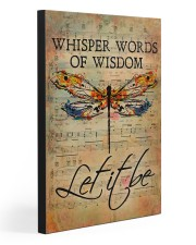LET IT BE  20x30 Gallery Wrapped Canvas Prints front
