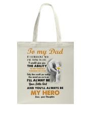 YOU'LL ALWAYS BE MY HERO  - MB263 Tote Bag thumbnail