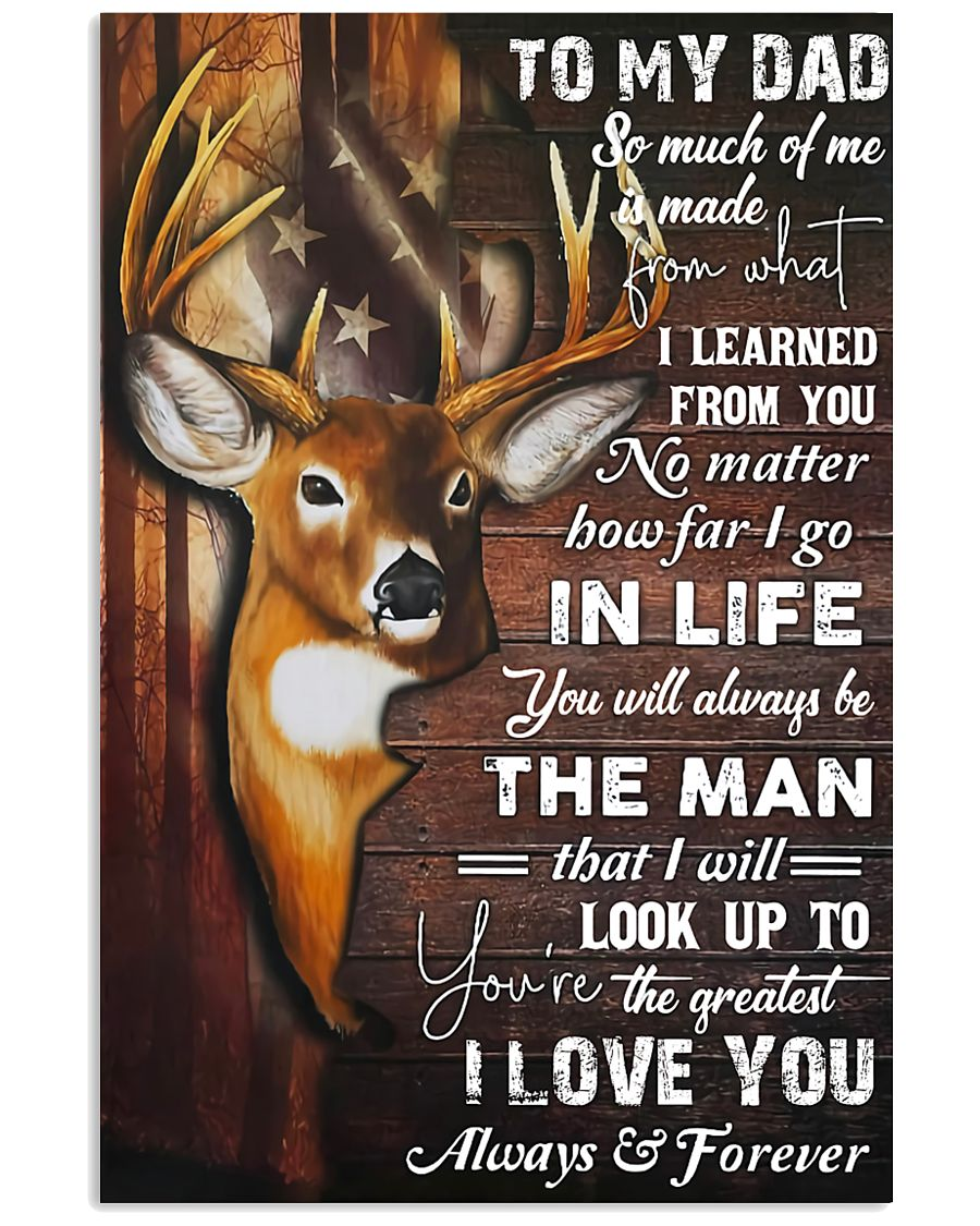 TO MY DAD - MB83 11x17 Poster