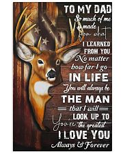 TO MY DAD - MB83 11x17 Poster front
