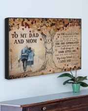 TO MY MOM AND DAD  30x20 Gallery Wrapped Canvas Prints aos-canvas-pgw-30x20-lifestyle-front-01