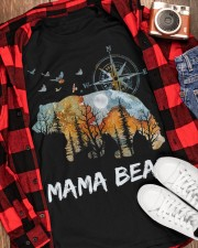 MAMA BEAR  Classic T-Shirt apparel-classic-tshirt-lifestyle-front-163
