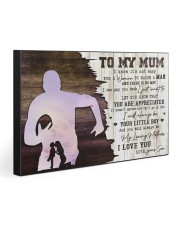 TO MY MUM - RUGBY Gallery Wrapped Canvas Prints tile