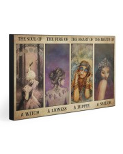THE SOUL OF A WITCH 30x20 Gallery Wrapped Canvas Prints front