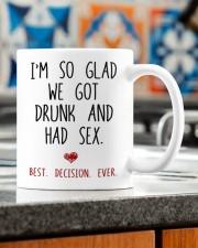 I'M SO GLAD WE GOT DRUNK AND HAD SEX  Mug ceramic-mug-lifestyle-57