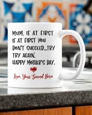 LOVE FROM YOUR SECOND BORN Mug ceramic-mug-lifestyle-57