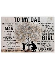 TO MY DAD - MB149 24x16 Poster front