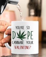 YOU'RE SO DOPE CANNABE YOUR VALENTINE Mug ceramic-mug-lifestyle-65