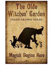 MAGICK BEGINS HERE Vertical Poster tile