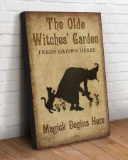 MAGICK BEGINS HERE 20x30 Gallery Wrapped Canvas Prints aos-canvas-pgw-20x30-lifestyle-front-14