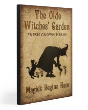 MAGICK BEGINS HERE 20x30 Gallery Wrapped Canvas Prints front