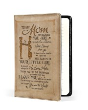 TO MY MOM   Medium - Leather Notebook front